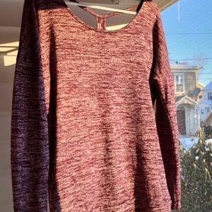 Athleta Sweaters - Athleta criss cross t-back sweatshirt